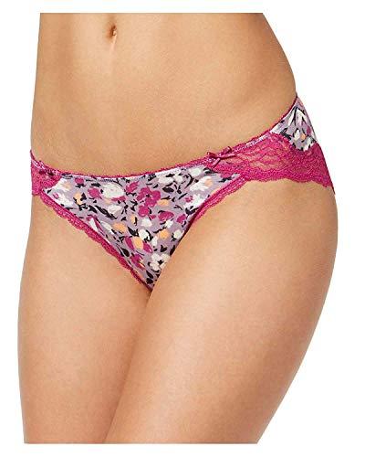 Heidi Klum Heidi by Womens Modal Lace Trim Bikini Panty Purple -