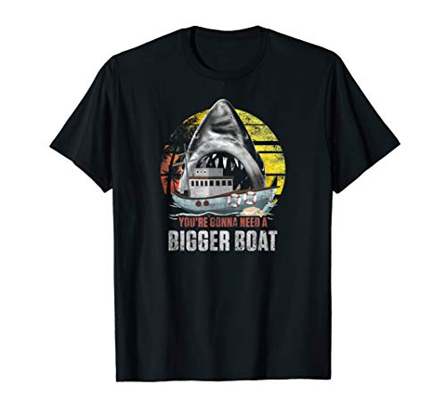 Mens You're Gonna Need A Bigger Boat Iconic T-Shirt ()