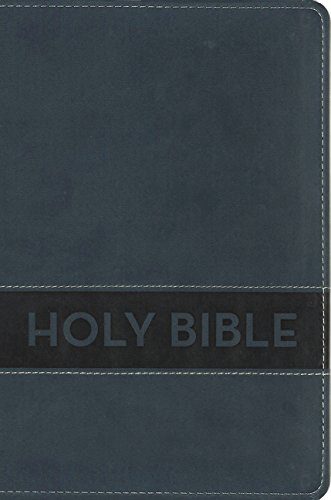 NIrV, Gift Bible, Leathersoft, Blue