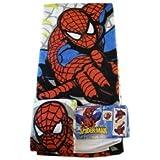 Marvel Spider Man Towel Set   2 Piece Spiderman Bath Set