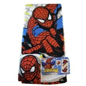 Amazon Com Marvel Spider Man Towel Set 2 Piece