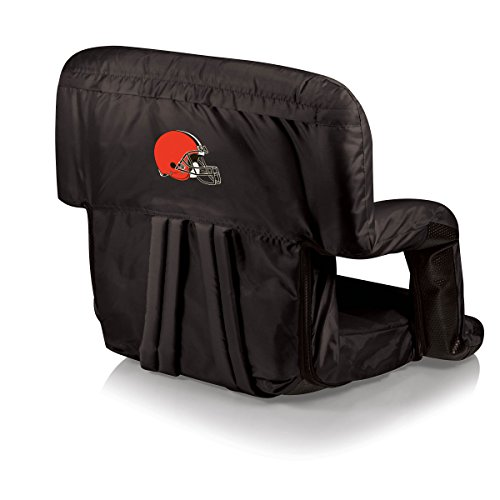 PICNIC TIME NFL Cleveland Browns Portable Ventura Reclining Stadium Seat by PICNIC TIME