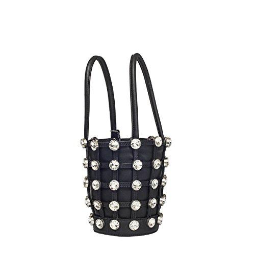 Alexander Wang Damen 20C0053ROXY Schwarz Leder Handtaschen