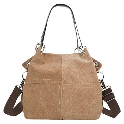 cucire Bag mercato Canvas buon Sylar Fashion Ladies Casual Messenger Khaki a tinta unita Zaino Sport Donna Messenger per Borse Totes zwqZZK6d1
