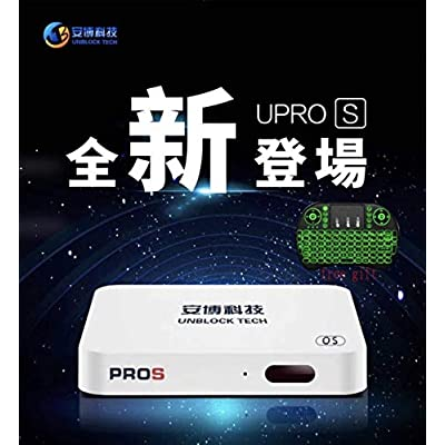 Image of Latest Version Unblock Tv Box GEN7 Unbock Tech Ubox7 - PROS I9 2G+32G with Support 5G WiFi Streaming Media Players