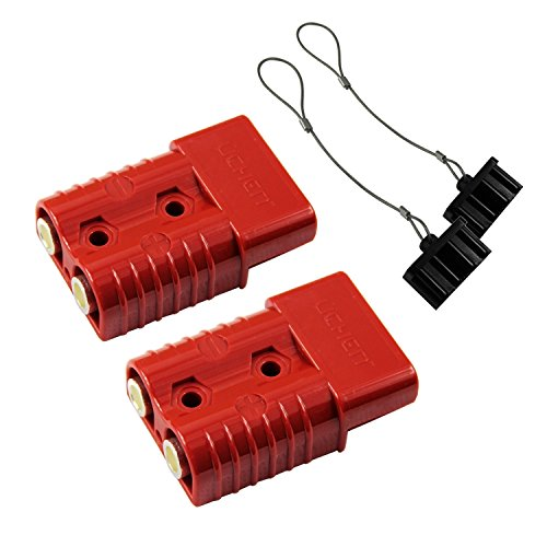 HYCLAT 2-4 Gauge Battery Quick Connect/Disconnect Wire Harness Plug Connector Recovery Winch Trailer ()