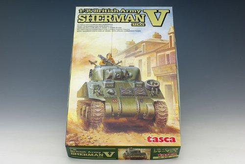 la mejor selección de 1 35 Scale British Army Sherman V M4A4 M4A4 M4A4 Tank Model Construction Kit (japan import)  almacén al por mayor
