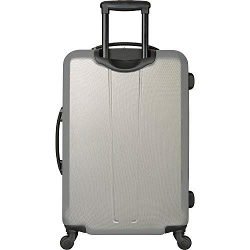 e79abdde521e Nautica Ahoy Hardside Expandable 4-Wheeled Luggage-21 Inch Carry-on Size,  Yellow/Silver