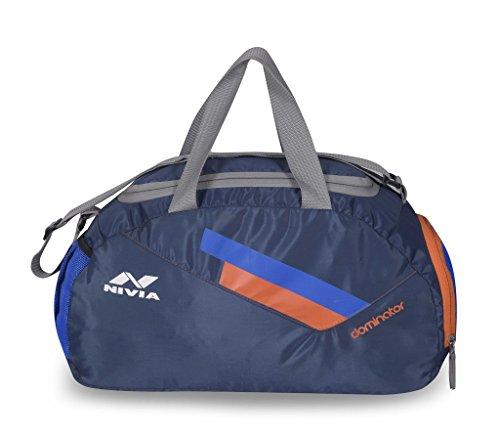NIVIA 'Dominator' Sports Bag Navy?Orange
