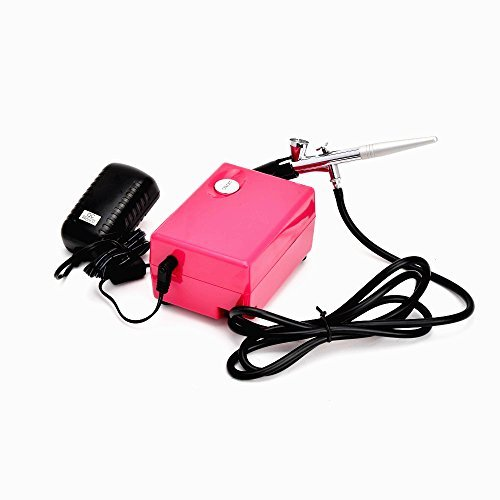 HUBEST Airbrush makeup system kit Beauty Cosmetic 3 level pressure