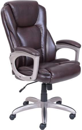 Serta Big and Tall Bonded Leather Office Chair