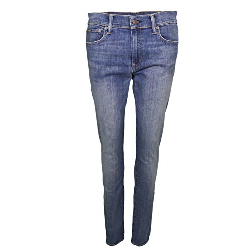 Ralph Femme Skinny Lauren Tompkins Jean Bleu Bleu pour 1qgw1R