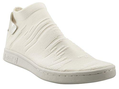 adidas Originals Damen Schuhe/Sneaker Stan Smith Sock PK Weiß 41 1/3