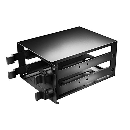"""Cooler Master Accessory: 2 BAY Hard Drive Cage (2.5"""" or 3.5"""") for MasterCase 5 / 6 / Maker, and H500P Series Cases"""