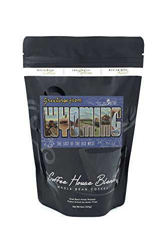 ng (The Last of the Old West) (8oz Whole Bean Small Batch Artisan Coffee - Bold & Strong Medium Dark Roast w/ Artwork) (Old West Strong Box)