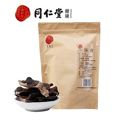 Beijing Tong Ren tang Dried Orange Peel Guangdong Xinhui Dried Tangerine Peel Chinese Healthy Herbal Chen Pi Tea北京同仁堂陈皮 新会陈皮干