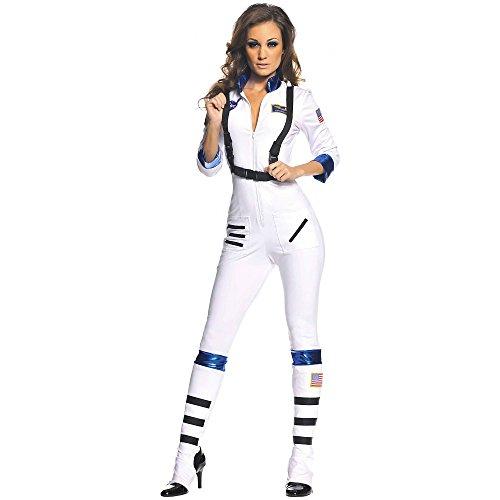 Underwraps Blast Off Astronaut Costume (Blast Off Costume - Large - Dress Size 12-14)