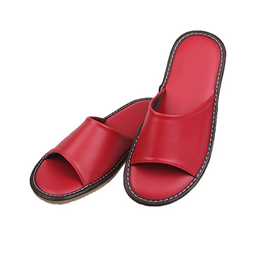 Red Women Femme pour Chaussons TELLW wIqYHH