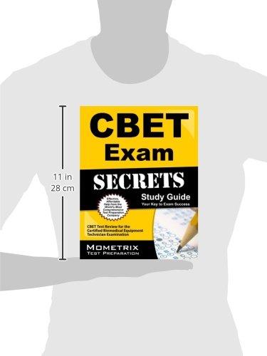 Buy CBET Exam Secrets: CBET Test Review for the Certified Biomedical ...