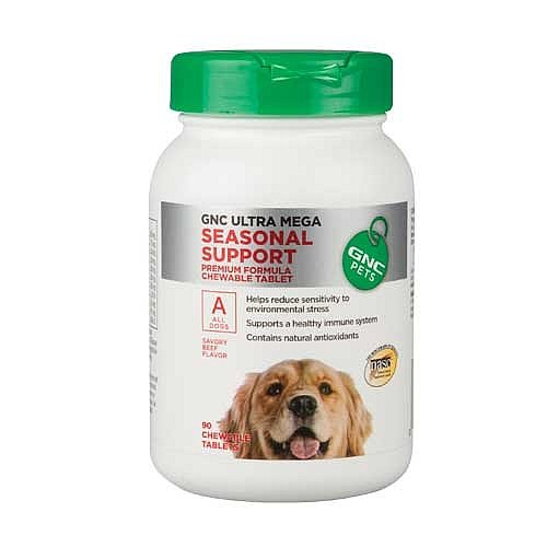 GNC Pets Ultra Mega Seasonal Support for All Dogs – Beef Flavor, My Pet Supplies