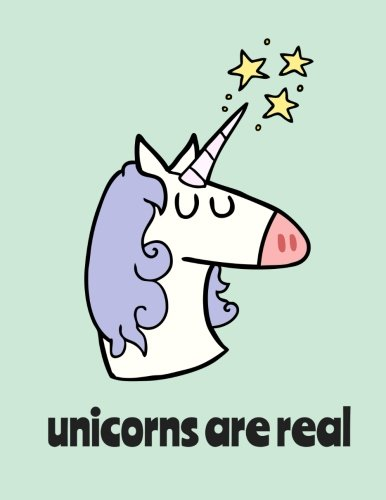 "Unicorns Are Real / Bullet Journal: Unicorn Dot Grid Notebook, 100 Pages, Baby Blue (Large, 8.5"" x 11"") (Creative Notebooks) pdf"
