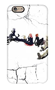 Rugged Skin Case Cover For Iphone 6- Eco-friendly Packaging(hd Kingdom Hearts ) by supermalls