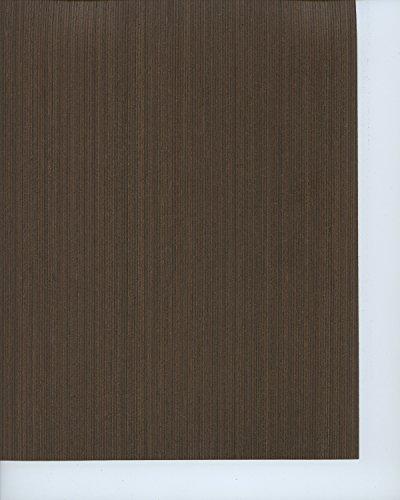 Reconstituted Wenge Wood Veneer Qtd Cut 2x8 2 Ply Sheet Pattern (Wenge Veneer)