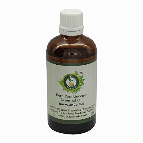 R V Essential El incienso puro esencial 100ml de aceite (3.38 oz)- Boswellia Carterii (100% puro y natural de Grado...