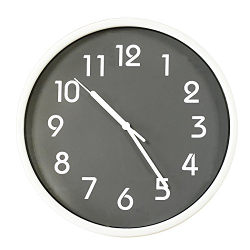 binwo modern colorful stylish elegant silent non ticking home kitchen living room wall clock 10. Black Bedroom Furniture Sets. Home Design Ideas