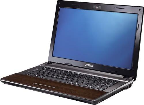 U43F BBA6 Notebook 2 66GHz Aluminum Exterior