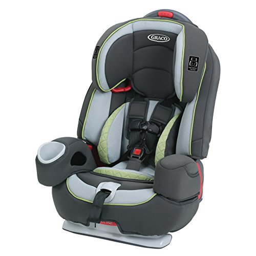 Graco Nautilus 80 Elite 3-in-1 Harness Booster Car Seat, Go Green -  1954840