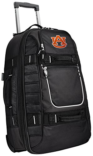 Small Auburn Carry-On Bag Wheeled Suitcase Luggage Bags by Broad Bay