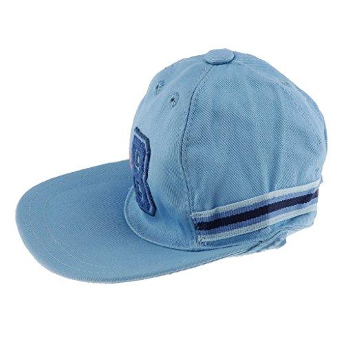 Homyl Handmade Soft Cloth Baseball Cap for 43cm Zapf Doll Dress Up Accessory OOAK Blue