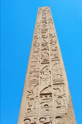 Obelisk at Karnak Temple Luxor Egypt Journal: 150 page lined notebook/diary ()