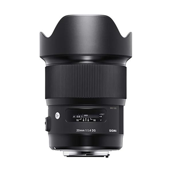 RetinaPix Sigma 20mm F1.4 DG HSM Art Lens for Nikon DSLR Cameras