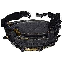 Pochete Masculina Em Lona Bolsa Para Cintura Reforçada Passeios viagens ideal para o dia-a-dia
