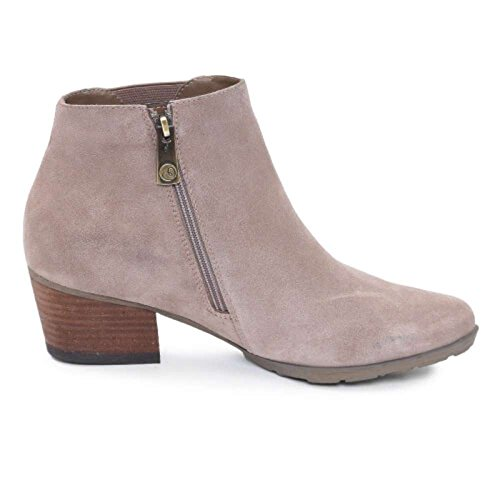 Blondo Womens Ibiza Almond Toe Ankle Fashion Boots, Mushroom, Size 7.0