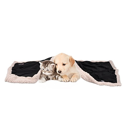 Pawsse-Pet-Sherpa-Throw-Blanket-Super-Soft-Fleece-Snuggle-Dog-Blanket-Warm-Cushion-Mat-for-Puppy-Cat-Small-Animals-45×30