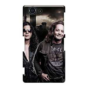 Icase88 Sony Xperia Z3 Mini Excellent Cell-phone Hard Covers Support Personal Customs Lifelike Stryper Band Skin [OJJ605Hrzu]