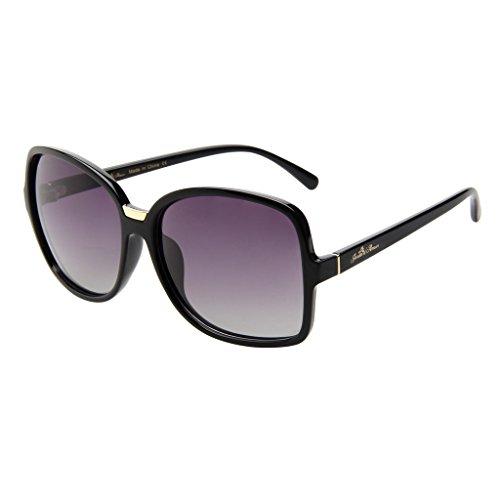 Jardin d'amour Brand Designer Oversized Sunglasses 2017 for Women Men Polarized Fashion JS7106 - Sunglasses 2017 Designer