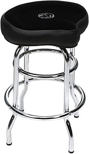 ROC-N-SOC Tower Saddle Seat Stool Black ()