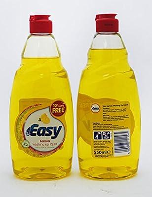 easy lemon washing up liquid 550 ml multicolour amazon co uk kitchen home amazon co uk
