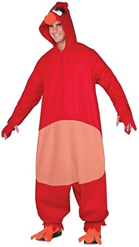 Rubie's Costume Co. Men's Angry Birds Movie, Red