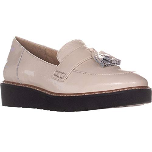 Patent Talla Alabaster Leather Naturalizer August Mujeres Mocasín Piel Hnf7aw