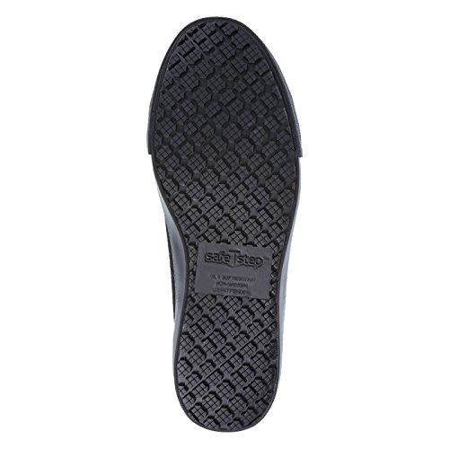 Slip Black Kick Women's Canvas safeTstep Oxford Canvas Resistant dqtOY
