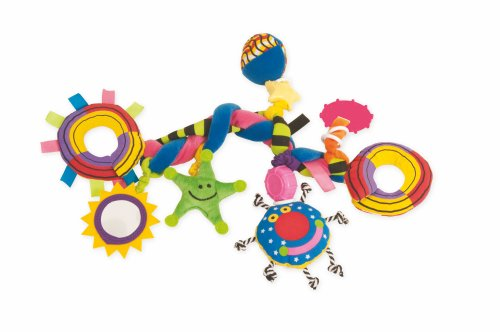 Whoozit Teether (Manhattan Toy Whoozit Big Bang Stroller and Travel Activity Toy)
