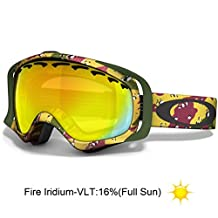 Oakley Crowbar Tanner Hall Signature Series Snow Goggle with Fire Lens [Sports]