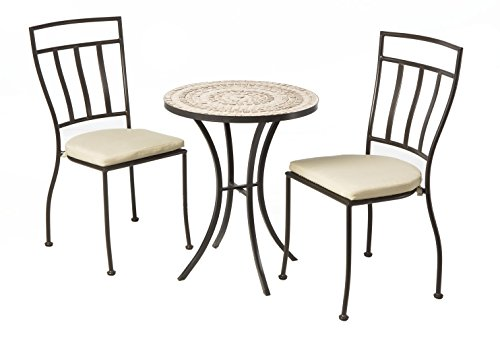 (Alfresco Home 3 Piece Boracay Bistro Set Including 24