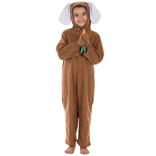 [Brown Rabbit Lite Costume Age 8 to 10 Years] (Halloween Costumes Rabbit)