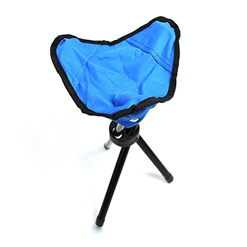 Gardening Outdoor /& Indoor Recreation Tripod Stool,Tri-Leg 3-Legged Stool for Kids Camping Seat Travel Chair-Foldable,Portable,Canvas Stool for Backpacking Hiking Fishing Mountaineering